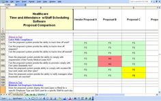 Request for Proposal (RFP) Templates: Software Requirement Request For Proposal, Schedule, No Response, Health Care, Software, Templates, Tools, Timeline, Stencils
