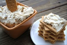 """Delicious Cheesecake Dip -- use this recipe for that """"original"""" cheesecake taste, or switch it up and make this dip to suit your favorite flavor by adding your own additions such as crumbled Oreos, chopped Snickers bars, or perhaps mini white chocolate chips with seedless raspberry preserves swirled throughout."""