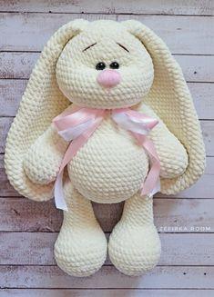Mesmerizing Crochet an Amigurumi Rabbit Ideas. Lovely Crochet an Amigurumi Rabbit Ideas. Crochet Bunny Pattern, Crochet Rabbit, Crochet Amigurumi Free Patterns, Crochet Animal Patterns, Crochet Dolls, Free Crochet, Crochet Animals, Sewing Patterns, Crochet Dinosaur