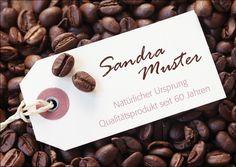 Einladungskarte zum 60. Geburtstag:  Kaffebohnen  ............  *So funktioniert die Bestellung:  Lege einfach die gewünschte Karte in den Warenkorb. Im Warenkorb gibt es ein Mitteilungsfeld....