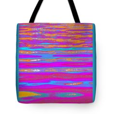 """Ripples and Reflection eleven Tote Bag 18"""" x 18"""""""
