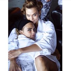 The 35 best fashion BFF Instagrams of the year: Karlie Kloss and Cara Delevingne