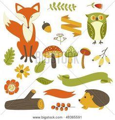 representacion de otoño ilustraciones - Buscar con Google