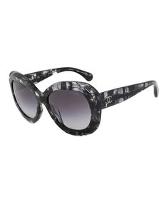 Chanel Black & White Butterfly Sunglasses