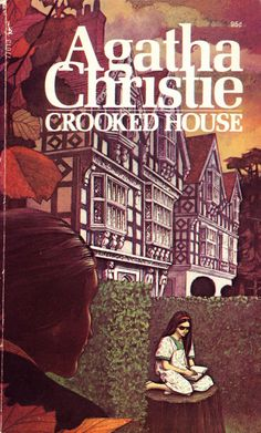 Crooked House by Agatha Christie. Golden Age British crime fiction, US paperback edition.