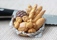 Bakery Basket - Dollhouse Miniature | Flickr - Photo Sharing!