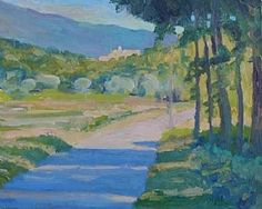 Crillon Le Brave an Mt Ventoux late afternoon 2 by frances knight  ~  x