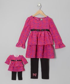 little Girl & Doll Matching Outfit : cute gift!