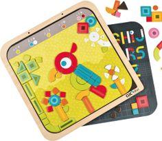CLIC educ Magnetická mozaika - Tvary