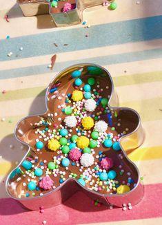 Schokolade schmelzen und verzieren - im Thermomix oder Wasserbad