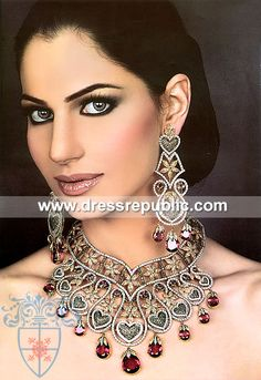 Style DRJ1063, Product code: DRJ1063, by www.dressrepublic.com - Keywords: Indian Pakistani Jewelry, Jewelery Shops Los Angeles, CA, L.A
