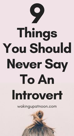 9 Things You Should Never Say To An Introvert | If you're a quiet person or have social anxiety then you've probably had people be rude to you and tell you to don't be shy or ask you why you're so quiet. These are the things you should never say to someone who is introverted or naturally quiet in life. You're mental health is so important and being happy is too #introvert #introverts #introvertproblems #anxiety #socialanxiety #mentalhealth #lifeadvice #advice