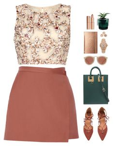 """// w a i t //"" by theonlynewgirl ❤ liked on Polyvore featuring Raishma, Theory, Sophie Hulme, Kate Spade, Burberry, Karen Walker and Nude"