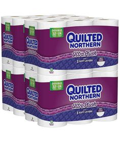 The Best Toilet Paper    Quilted Northern Ultra Plush