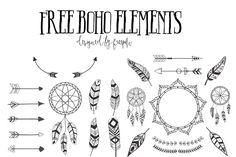 DLOLLEYS HELP: Free Boho Elements