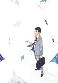 ワニブックス『これからの営業に会話はいらない -「コミュ障」の僕でも売り上げNo.1になれた方法 - 』(著:菊原智明)装画I drew the cover illustration for the book published by WANI BOOKS.