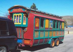 "One of the first traveling homes - a true ""Gypsy Wagon"""