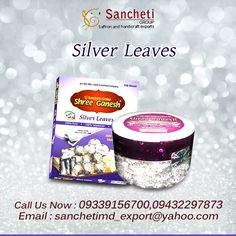 Shop Veg Silver leaves Online http://www.sanchetiexports.com/6-veg-silver-leaves
