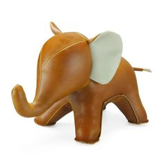 Elephant Bookend Tan