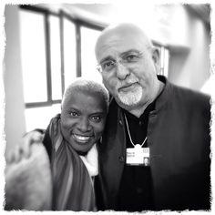 Peter Gabriel and Angelique Kidjo