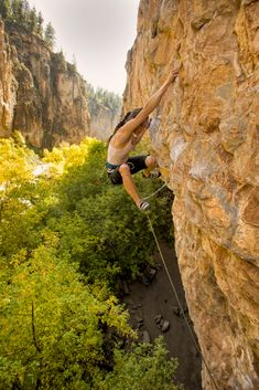 Lauren Lee McCormick on Return to Sender, 5.12a, Rifle Mountain Park, Rifle Colorado. From the book Women Who Dare.