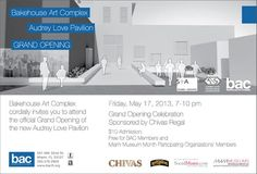 BAC's Grand Opening of The Audrey Love Pavilion. http://www.sydneyserverrealestate.com/miami-wynwood-arts-district-real-estate-blog/bacs-grand-opening-of-the-audrey-love-pavilion/