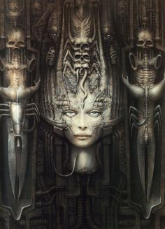 H. R. Giger - THE GUY DIDN'T HAVE ILLUSTRATOR, INDESIGN, PHOTOSHOP...OF COURSE NEITHER DID PICASSO, DAVINCI OR ANY OTHER OF THE MASTERS...WHAT IS OUR EQUIVALENT TO MIXING OUR OWN PAINT AND CUTTING HORSE HAIR TO MAKE A PAINT BRUSH?