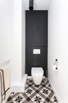 Like an excellent investment, a powder room has a significant role for your home. Find out awesome and beatiful powder room ideas here Unique Home Decor, Home Decor Styles, Home Decor Accessories, Small Toilet, New Toilet, Wc Design, Floor Design, Bad Inspiration, Bathroom Inspiration