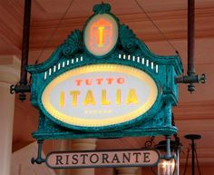 Tutto Italia - Epcot  Have an ressie here for our last night in the parks.  Yummy food.
