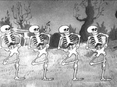 Be sure to see this awesome cartoon at disneyworld24.com CLICK ON THE PICTURE! #disney #disneycartoons #skeletondance