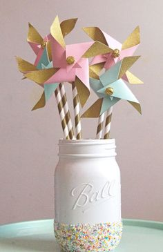 pink mint gold first birthday pink and gold by pompomsandpinwheels