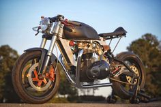 RocketGarage Cafe Racer: Bucephalus by Loaded Gun Customs
