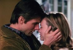 Romantic Movies That Your Man Might Enjoy for Valentine's Day: Jerry Maguire (1996)  Plot: A self-involved sports agent quits his job after having a moral breakthrough and becomes an independent agent, balancing the demands of his only remaining client with the former co-worker he's begun to fall in love with.