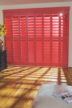 Full height shutters cover the full height of the window, this is our most popular and flexible installation styles offered by plantation shutters. Window Shutters Inside, Shutter Images, Wooden Shutters, Blinds, Photo Galleries, This Is Us, New Homes, Windows, Colours