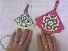 Stamping T! - Fancy Corner Bookmarks