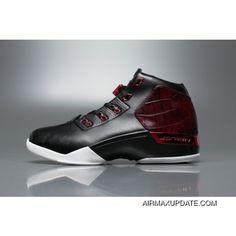 90d20243fd98 Super Deals Mens Womens Air Jordan 17+ BULLS Basketball Shoes Black Gym Red