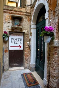"""Definite possibility for Venice! Down a narrow little alley you'll find your """"home"""" in Venice. Trattoria Italiana, Venice Italy Hotels, Places To Travel, Places To Go, Places In Italy, Most Beautiful Cities, Dream Vacations, Italy Travel, Tuscany"""
