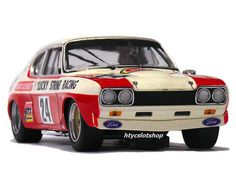 Ford Capri RS 2600 Lucky Strike 9Hs Kyalami 1971 by SRC Slot Car Racing, Slot Cars, Race Cars, Mercury Cars, Ford Capri, Car Car, Motor Car, Muscle Cars, Vintage Cars