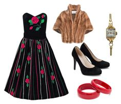 """Flashback to the 50s"" by sassyladies ❤ liked on Polyvore featuring Tiffany & Co."