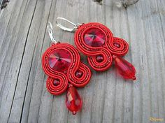 Ridgways / Simple Red...soutache na želanie