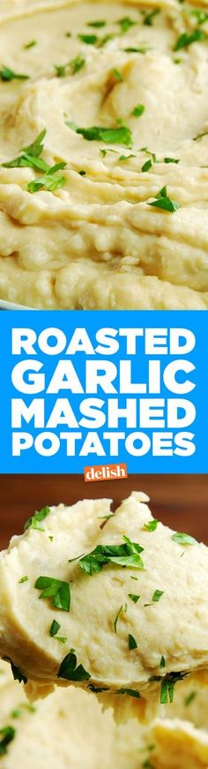 Roasted Garlic Mashed Potatoes  - Delish.com