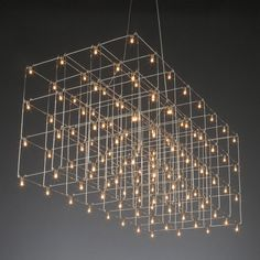 Universe LED Square Suspension by Lightology Collection | 11-8343-3E