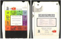 Columbia Musical Treasury Orchestra / Moonlight Nocturne / Vivid Sounds VS-110-8-TQ (8-Track Tape), $3.25