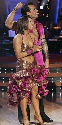 DWTS Season 6 Spring 2008 Cristian de la Fuente and Cheryl Burke