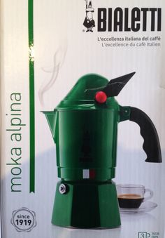My limited edition espresso coffee maker from my Caro fratellino ❤️☕️