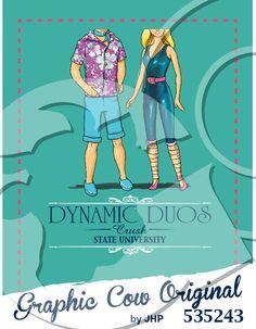 Dynamic Duos Barbie Ken mixer #grafcow