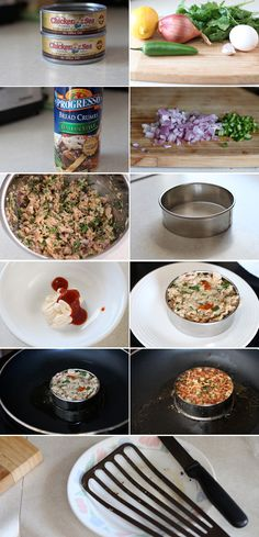 Tuna Cakes Recipe by Dax