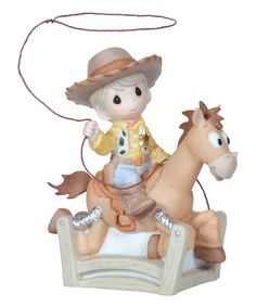 Loving this Woody Bullseye Figurine on #zulily! #zulilyfinds