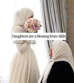 Daddy Daughter Quotes, Daughter Love, Daughters, Beautiful Islamic Quotes, Islamic Inspirational Quotes, Islamic Qoutes, Girly Attitude Quotes, Girly Quotes, I Love You Mum