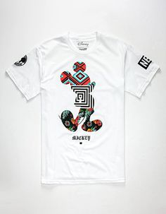 NEFF Disney Collection Mickey Sway Mens T-Shirt White